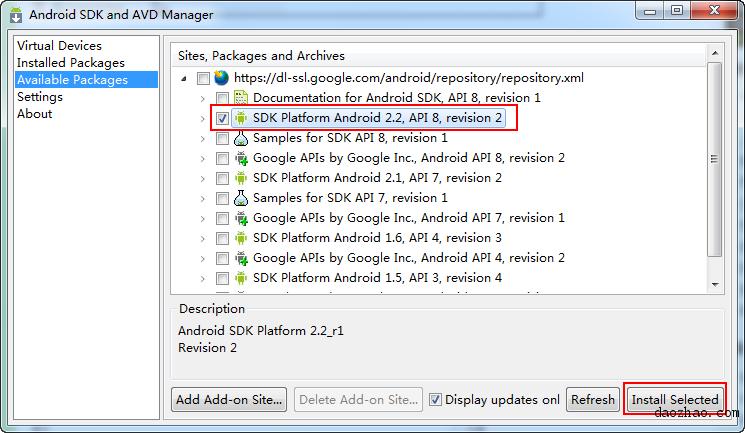 在电脑上安装Android模拟器 & 模拟器安装APK的方法 - 安机网技术交流 - 2010-07-23_144016.png