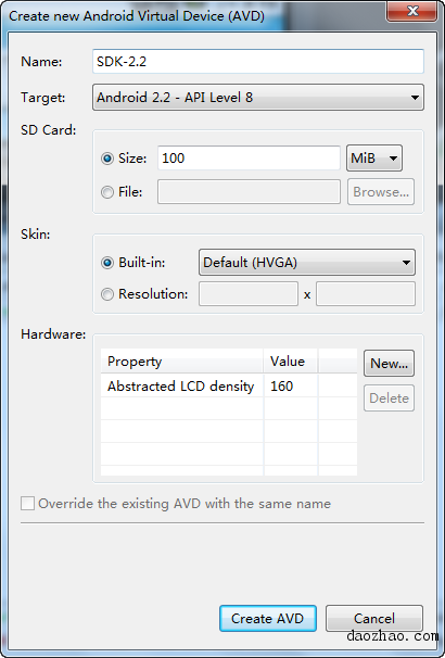在电脑上安装Android模拟器 & 模拟器安装APK的方法 - 安机网技术交流 - 2010-07-23_111927.png